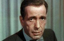Humphrey Bogart (+57) - Jizva byla jeho obchodní značkou!