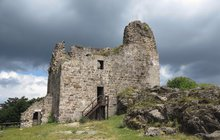 Románské památky: Zřícenina hradu Přimda