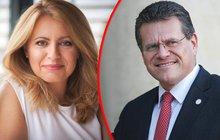 Slováci budou vybírat prezidenta ze dvou protikladů: Teta ze smetiště, nebo protřelý diplomat?