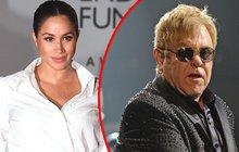 Meghan už nezná míru: Tohle Elton John nerozdýchá!