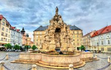 Baroko a rokoko: Barokní kašna Parnas v Brně