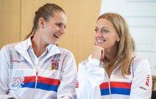 Plíšková & Kvitová zářily na hráčské párty: Přijely jsme pro fáro!