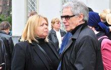 Josef Laufer s manželkou: První foto po toxickém šoku
