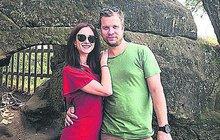 Syn Davida Kollera a dcera Kamila Střihavky: Čekají trojčata?