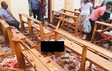 Výbuchy na Srí Lance: Přes 100 mrtvých, 450 zraněných.