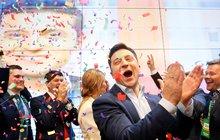 V ukrajinských volbách triumfoval herec Zelenskyj: Komik prezidentem