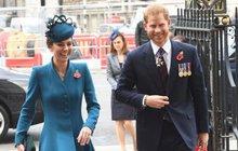 Ještě se to nenarodilo: Vysmátý Harry se švagrovou Kate