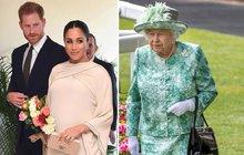 Stopka pro  Harryho a Meghan: Královna vyřkla razantnÍ NE!