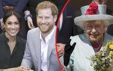 Radost britské královny Alžběty: Prababičko, já jsem kluk!