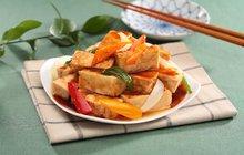 Vyzkoušejte tofu! Pečené s thajskou omáčkou