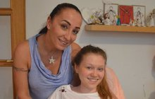 Mariance (13) splnili dětské přání: Vstala z vozíku