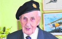 Veterán Josef Švarc: V Normandii jsem viděl tisíce mrtvých