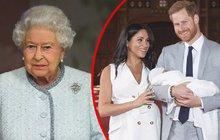 Velký den Meghaniny rodinky se blíží: Podpásovka od královny!
