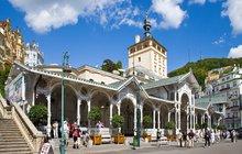 Karlovy Vary - město pramenů a kolonád...