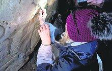 Kresba stará 6200 let: Našli ji v Moravském krasu
