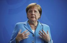 Merkelová se opět třásla