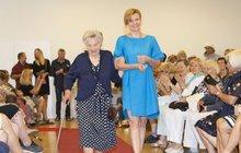 Hvězda StarDance Schneiderová: Na molu se  seniorkami!