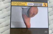 Muž po amputaci se poznává na krabičce cigaret: To je můj  pahýl!