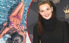 Misska Švantnerová má svaly i díky paddleboardu: To jsou ale buchty!