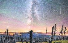 Perseidy, krása přilítá z nebes: Kdy se na ně dívat?