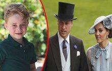 Kate a William v šoku: Nechutný útok na syna George!