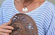 Jak vytvořit šperk z lastury podle Chvadlene Madlene...