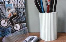 Dózy na tužky si vytvoříte sami a potěší nejen školáky...