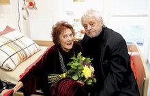 Herečka Vlasta Chramostová (†92) odešla sedm měsíců po smrti svého milovaného manžela...