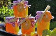 POTŘEBUJETE:5 velkých pomerančů30 g čerstvého zázvoru1 citron1 Želírovací cukr 2:1 Labeta