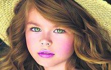 Nepsaným titulem nejkrásnější holčičky světa označovala před lety média po celém světě Francouzku Thylane Blondeauovou (18), která se v roce 2011 ve věku pouhých 10 let objevila na titulní straně magazínu Vogue. Z Thylane vyrostla půvabná slečna a úspěšná modelka a štafetu »dětské hvězdy« po ní převzala Ruska Alina Jakupová (6).