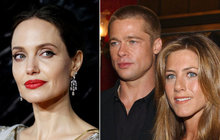 Jolie or Aniston?  Brad Pitt is said to have ...