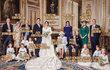 Oficiální snímek ze svatby princezny Eugenie