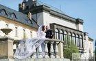 Bizarní svatba Tomáše Ortela: Hitler a policie!
