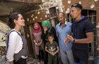 Angelina v Mosulu: Ze sutin plakala a prosila o pomoc