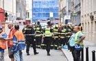 V centru Prahy se zřítila část domu: Zavalila pět lidi, záchranáři aktivovali traumaplán