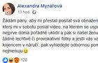 Šokující přiznání Mynářové: Nechutné sexuální útoky!