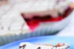 Švestkový dort s likérovou šlehačkou