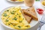 Omeleta jako od šéfkuchaře: Jak ji připravovat, aby nebyla vysušená