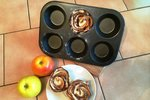 Vyzkoušeno! Upečte si růžičky z jablek. Zvládne to každý!
