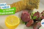 Albert škola vaření Zdeňka Pohlreicha: Vánoční ryba s bramborovým salátem