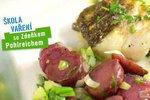 Albert Škola vaření Zdeňka Pohlreicha: Vánoční ryba s bramborovým salátem krok po kroku