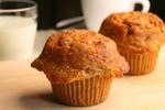 Muffiny z ovesných vloček