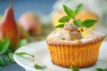 Nadýchané hruškové muffiny