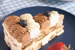 Mražený čokoládovo-vanilkový dort herečky Winony Ryder