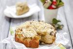 Křehký koláč s rebarborou