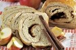 Kynutý závin s jablky a skořicí