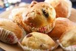 Muffiny s třešněmi a jogurtem