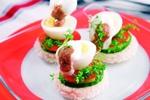 Vaječné chuťovky s dresinkem