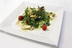 Křehké krevety na salátovém hnízdě