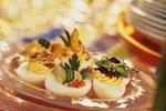 Plněná pikantní vejce